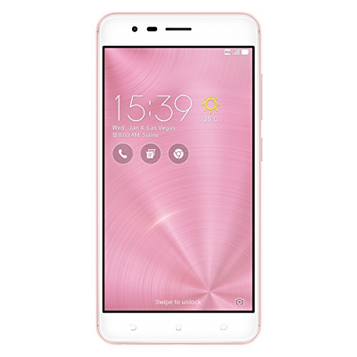 "ASUS ZenFone ZE553KL-3I100WW Dual SIM 4G 64GB Rose Gold smartphone - Smartphones (14 cm (5.5""), 64 GB, 12 MP, Android, 5.0, Rose Gold)"