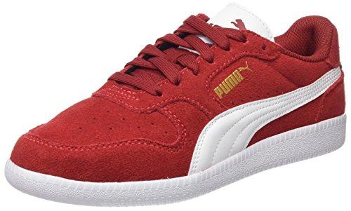 Puma Unisex-Erwachsene Icra Trainer SD Sneaker, Rot (Red Dahlia White), 40 EU (Rote Leder-schuhe)