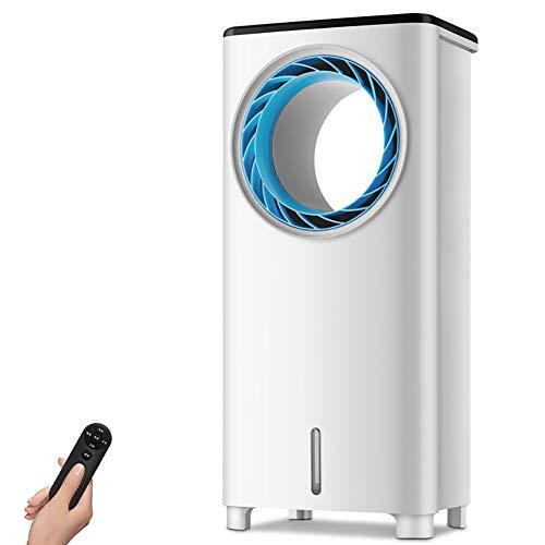 CNNAir Luftkühler • Luftbefeuchter • Luftreiniger • 3 Leistungsstufen • 120 ° Weitwinkel • Wassertank 4L • Timer • Fernbedienung Klimageräte Ventilator