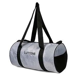Lutyens 21 Ltrs Grey Polyester Gym Bag/Sports Duffle (Lutyens_190)