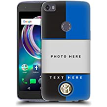Personalizzata Personale Inter Milan Nero E Blu 2017/18 Cover Morbida In Gel Per Alcatel Idol 5s 6060X