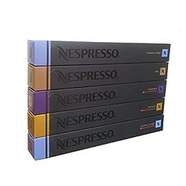 50 Nespresso Variety Mix – DECAF Arpeggio, DECAF Vivalto, DECAF Volluto, Cosi, Vivalto