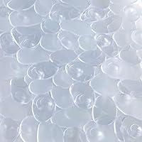 duschmatte farbe whlbar 52x52cm duscheinlage antirutschmatte dusche kunststoff farbauswahltransparent - Antirutschmatte Dusche Rund