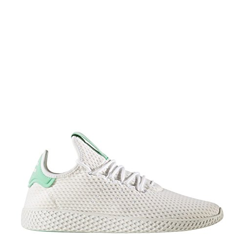 adidas Unisex-Erwachsene PW Tennis hu Fitnessschuhe, Weiß (Ftwbla/Ftwbla/Briver), 36 2/3 EU (Tennis Tennis-herren Schuhe)