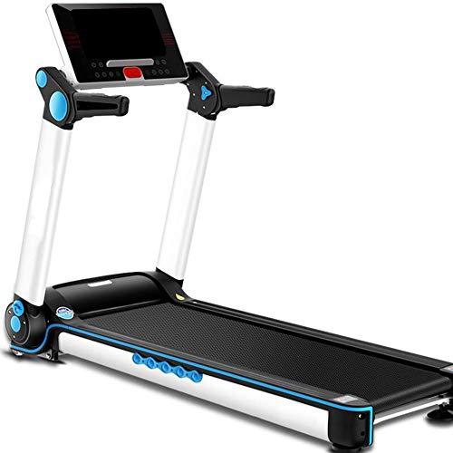 YXRPK Cinta De Correr Plegable Máquina De Caminar Eléctrica Ultradelgado Unisex, Se Puede Conectar Directamente A WiFi Inalámbrico, Totalmente Plegable A 90 °, 15 Archivos Ajuste Automático