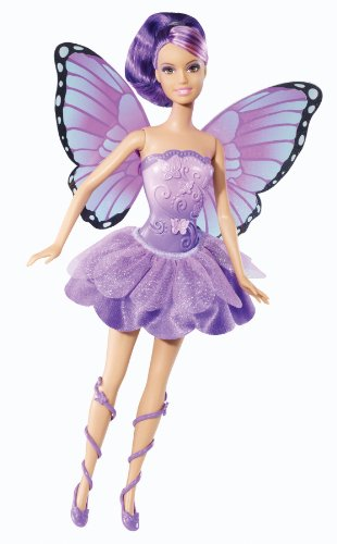 die Fairy Princess Friends Puppe, violett ()