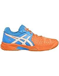 Asics Tennis Shoes Gel-Bela 5 Sg Gs Diva Blue / White / Shocking 40