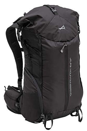 ALPS Mountaineering Tour Day Backpack 35-45L, Black