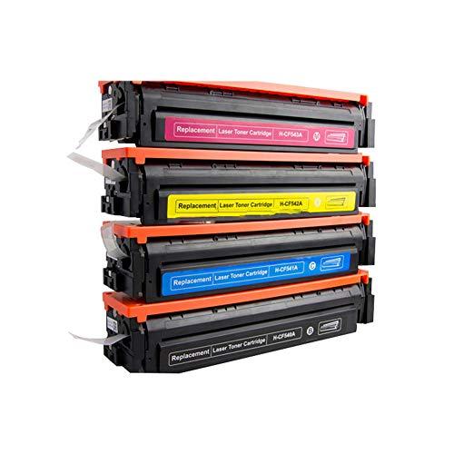 Kompatible Tonerkartusche HP 203A für Toner M254 CF540A CF541A CF542A CF543A 4-Farbdrucker L - Hewlett Packard Kostüm
