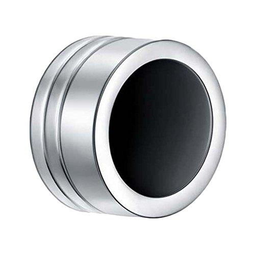 Unisex 8mm Ohrringe Edelstahl-magnetisches Runde Clip