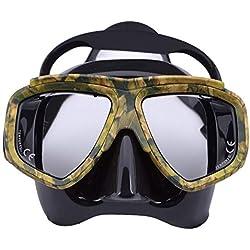REFURBISHHOUSE Masques De Nage Anti-Brouillard De Masque De Plongée Professionnel De Myopie