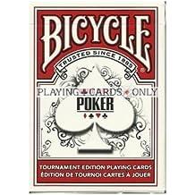 Serie Mundial de Poker WSOP torneo calidad jugando a las cartas - rojo en bicicleta World Series of Poker WSOP Tournament Quality Playing Cards - RED by Bicycle