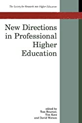 New Directions In Professional Higher Education (Society for Research into Higher Education)