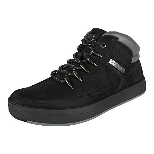 Timberland Herren Sneaker Davis Square Mid Hiker Black Nubuck (schwarz), Größe:45