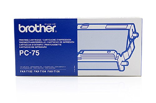 Original Brother PC75 / 27719 Thermo-Transfer-Rolle mit Kassette für Brother Fax T 106 -