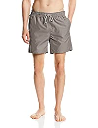 Tom Tailor Denim Solid Swim, Short Homme, Gris
