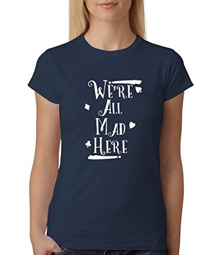 Mad - Girls T-Shirt Navy, Größe L ()