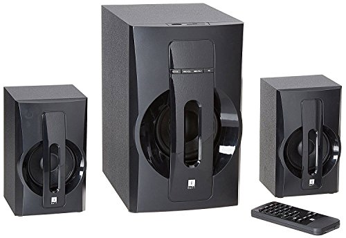 iBall Tarang Lion Exclusive 2.1 Channel Multimedia Speakers (Black)
