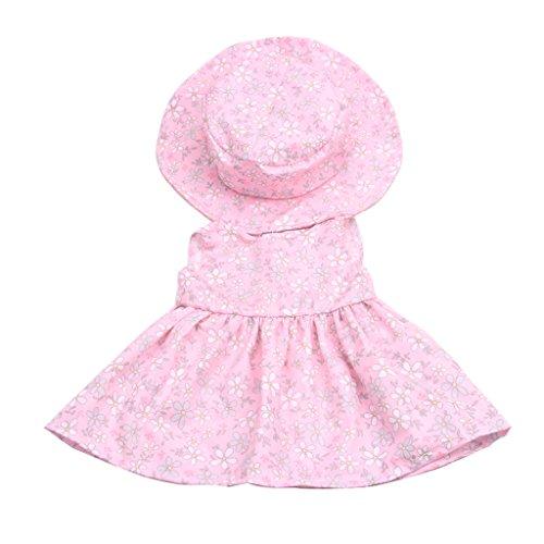 Homyl Süße Puppe Kleidung ärmellos Kleid & Runder -