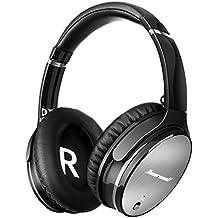 Auriculares Bluetooth LinkWitz Cascos Inalámbricos de Diadema con Bluetooth 4.1, Cancelación Activa de Ruido, Plegable con Estéreo, Micrófono Incorporado,para iphone,Android,PC,TV,Tablets