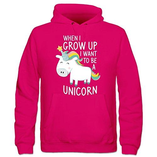 I-Want-To-Be-A-Unicorn-Kinder-Kapuzenpulli-by-Shirtcity