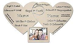 Namofactur Romantische Ich Liebe Dich Geschenke für Pärchen Paare Männer Frauen Freundin zum Geburtstag Jahrestag Hochzeit Verlobung