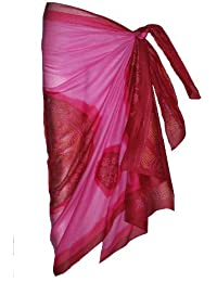 Pink Sarong with Bandana Design