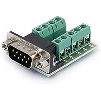 RS232 vers DB9 Module Terminal Type d'écrou Connecteur 9 Broche Mâle Signaux
