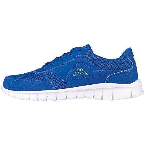 Kappa Bilbao II Sun, Sneaker Basse Unisex - Adulto Blu (Blau (6033 Blue/Lime))