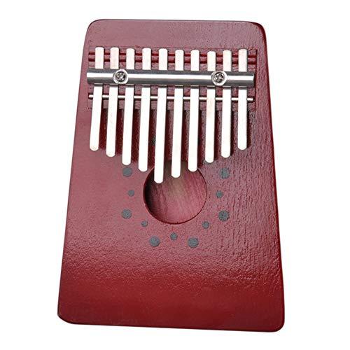 Daumen-Klavier mit 10 Tasten, Marimbas – Afrika, traditionelles Gebet Holz Finger Kalimba – flexibel, Mini-Pumpen, Musikinstrument 1#