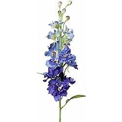 artplants Set 3 x Künstlicher Rittersporn RASMINE, blau, 60 cm, Ø 10 cm - Kunstblume/Deko Blumen