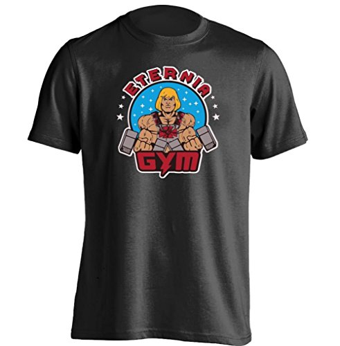 Arnoldo Blacksjd Gym Eternia He Man And The Masters Of The Universe Mens & Womens T Shirt Large