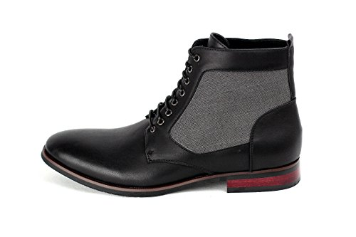 JAS, Bottes pour Homme noir/gris