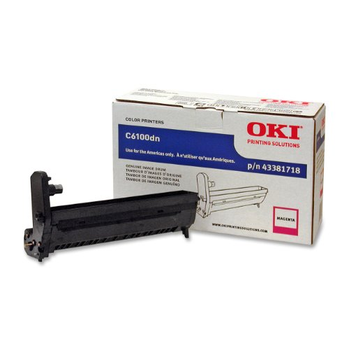 OKI Typ C820.000Seiten magenta Drum Drucker-Trommeln Druckertisch (20.000Seiten, magenta) -