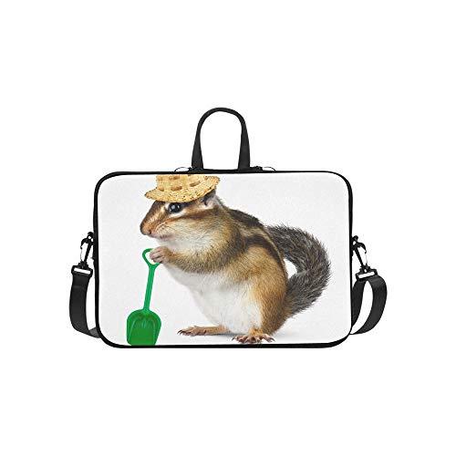 en in Wolle Hüte Muster Aktentasche Laptoptasche Messenger Schulter Arbeitstasche Crossbody Handtasche für Geschäftsreisen ()