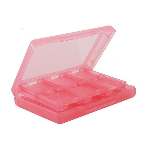 O'plaza ® New 28 in 1 Game Card Case Holder Plastic Cartridge Box for Nintendo 3ds & Xl Red by O'plaza®