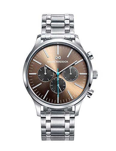 Mark Maddox Men's HM0102-17 Steel Multifunction Watch
