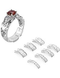 Invisible Ring Size Adjuster für lose Ringe - Ring Guard, Ring Sizer, 7 Größen passen für Mann und Frau Ring
