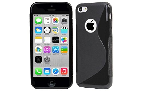 Price comparison product image High Value Apple Iphone 5 5G 5S Black Silicone Gel S Line Grip Case Cover For Apple Iphone 5 5G 5S By G4GADGET®
