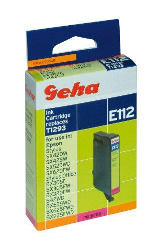 Geha Tintenpatrone E 112 magenta kompatibel mit Epson T 1293