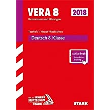 VERA 8 Testheft 1: Haupt-/Realschule - Deutsch + ActiveBook