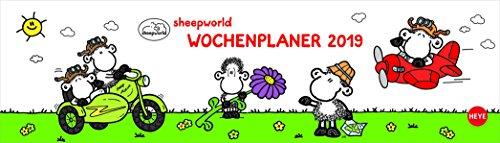 sheepworld Wochenquerplaner - Kalender 2019