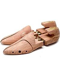 Madera De Cedro De lujo Zapatilla Trees con split resorte dedos para un exacta ajuste Hecho por Selvyt - Garantizado para hacer sus zapatos last más tiempo y permanecer en great forma fUy1le