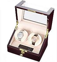 CHIYODA CYD-SWI22 Automatic Double Watch Winder 100 percent Handmade Wooden Watch Box With Dual Quiet Mabuchi