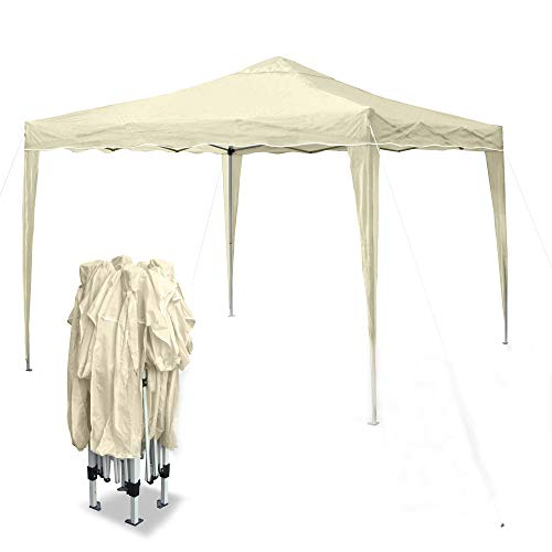 JOM Pavillon Faltpavillon Pop-UP Zelt 3x3m beige