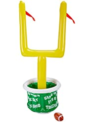 Beistle 50083 1-Pack Inflatable Goal Post Cooler with Football for Parties, 28-Inch Width by 6-Feet 2-Inch Height