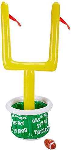 Beistle 500831er Pack aufblasbarer Kühler Ziel Post mit Fußball für Partys, 71cm Breite von druckknopfstiel 2Zoll Höhe