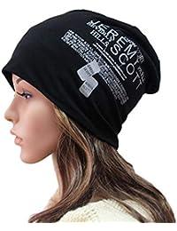 IBLUELOVER Gorro Hombre Mujer Sombrero Punto Transpirable Suave Beanie  Unisex Loisirs Hip-Hop Gorra Flexibles Primavera otoño… 33c8c52975c