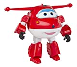 Super Wings - Jett, Super Wings transformable con sonido y luz (ColorBaby 75883)