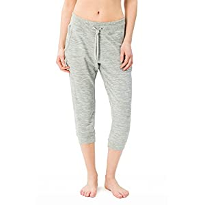 super.natural Damen W Essential Crop Merino Jogginghose